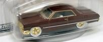 Hot Wheels '64 Impala Blvd. Bruisers (3/4) Burgundy      Free Shipping!!