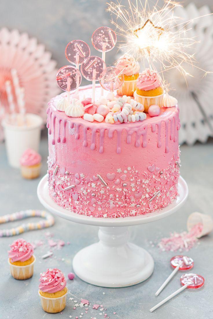 Madchen Geburtstagstorte Mit Himbeeren Mein Naschgluck Rezept Torte Kindergeburtstag Geburtstagstorte Geburtstag Kuchen Madchen
