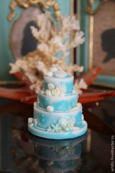 """Купить Мыло """"Лазурный берег"""" - свадебные аксессуары, Готовимся к свадьбе, мыло ручной работы"""