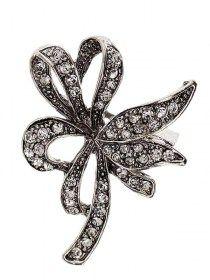 Brosa Floare Argintie