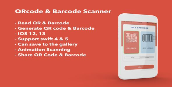 Simple Qr Code Barcode Scanner Generate Ios 12 And 13 Features Scan Qr Code Amp Generate Scan Barcode Amp Generate Ios 1 In 2021 Coding Qr Barcode Qr Code