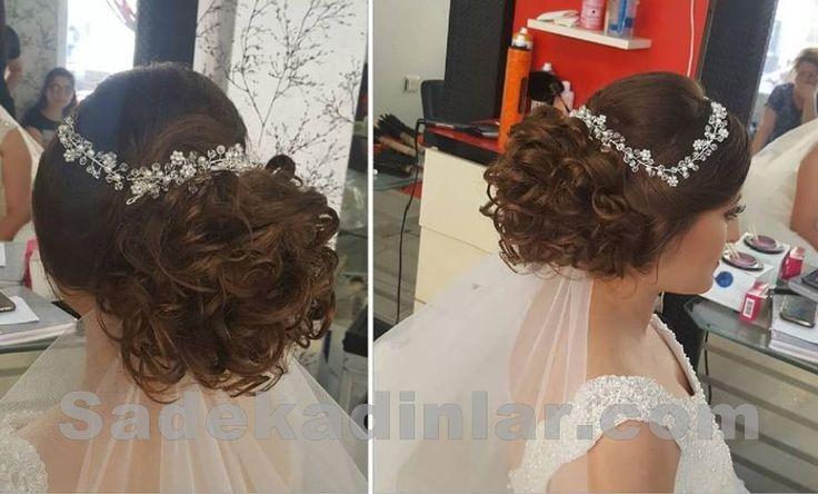 Gelin Saç Modelleri - Son Moda – Gelin Saçı – Gelin Başı – Gelin Topuzu – Topuz Modelleri – Topuz Saç Modelleri - Bridal Curly Hairstyles