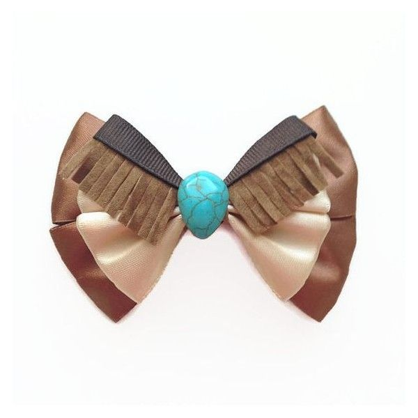 Pocahontas Disney Character Inspired Princess Pocahontas Hair Bow ❤ liked on Polyvore featuring accessories, hair accessories, hair bow accessories and hair bows