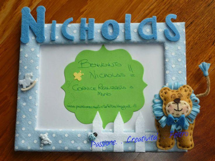 Cornicette bambini ~ 46 best cornici in feltro my jobs images on pinterest feltro