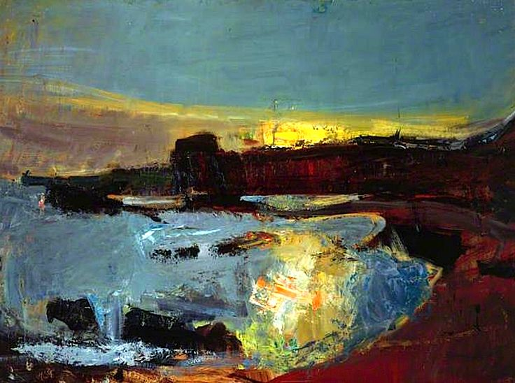 bofransson: Seascape, 1950 Joan Eardley