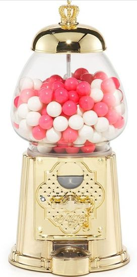 Gold Gumball Machine