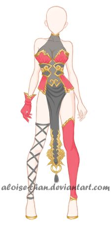[OPEN] Chinese Armour Adoptable by Aloise-chan.deviantart.com on @DeviantArt