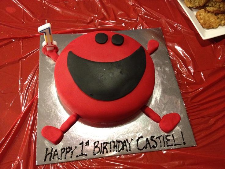 Mr Noisy cake