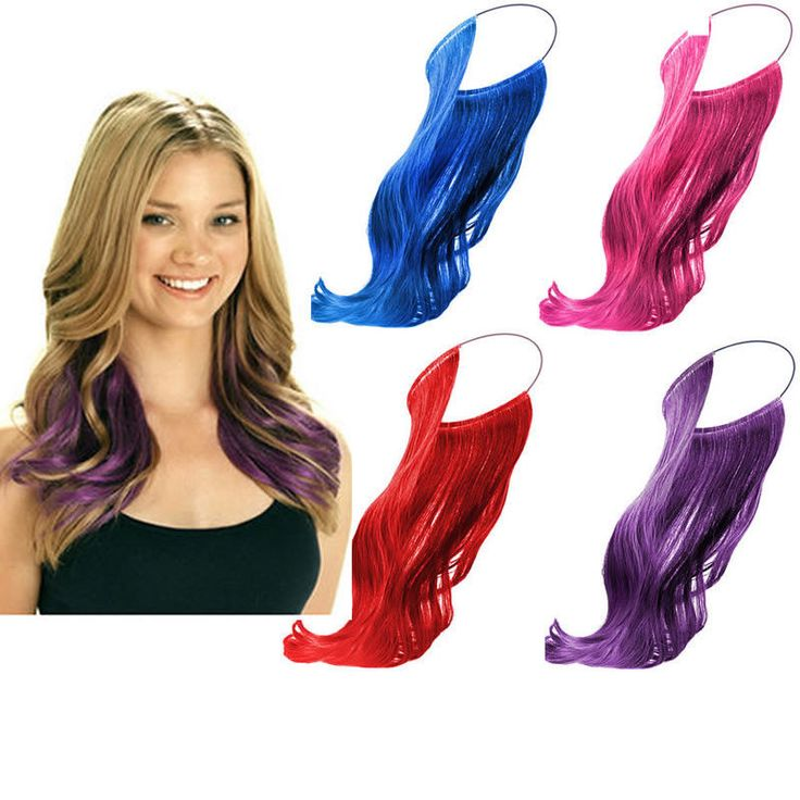 Secret Invisible Headband Flip-in Hair Extensions 4 Colour #Unbranded #HairExtension