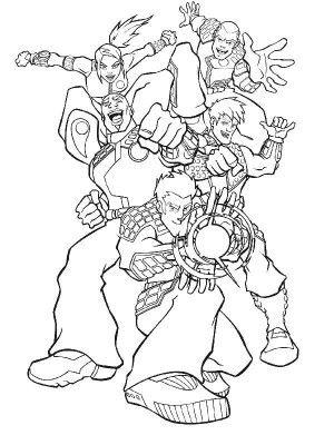 Mejores 19 imágenes de Action man coloring book en Pinterest ...