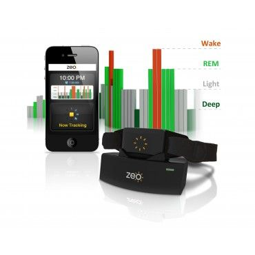 Track and improve the quality of your sleep on your smart phone with the Zeo Sleep Manager. Anderson Cooper loves it.