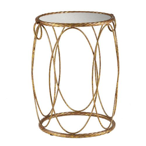Found it at Wayfair - Audrey Mirrored End Table