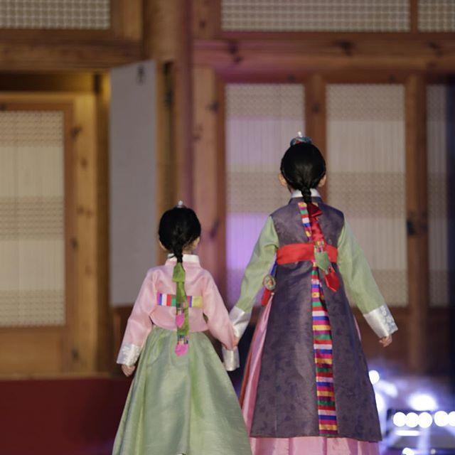 Korean traditional dress Hanbok.#asian #kids