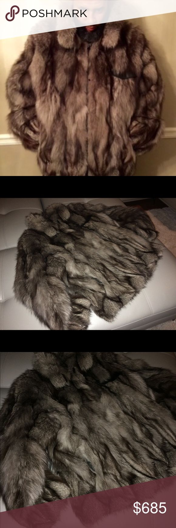 Fox Fur – Great Gift 4 hubby, boyfriend or U. Get this coat at an unbeatable price before it changes as it gets colder. Beautiful, plush and soft Men…
