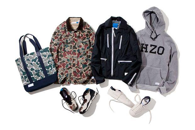 "adidas Originals 2012 Fall/Winter ""BLUE"" Collection"