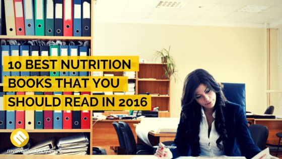 10 best nutrition books that you can have in 2016 to help you out because it's a tricky subject. You can't get a one-size-fits-all solution for everyone. #delicious #healthylifestyle #healthybreakfast  #homemadefood #fresh #healthynothungr