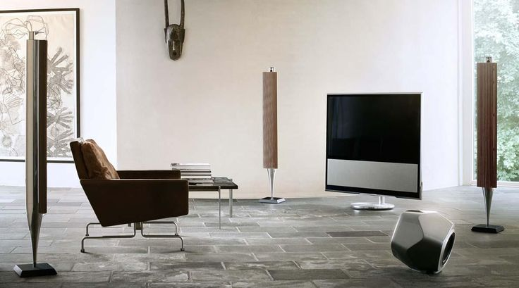 Bang & Olufson Beolab 19 speakers B&O Dodecahedron shaped high-end speakers #dutch #design #geometric #luxury #speakers