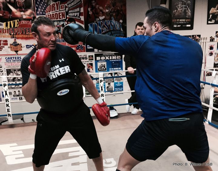 Razvan Cojanu to step in as late replacement for Joseph Parker?