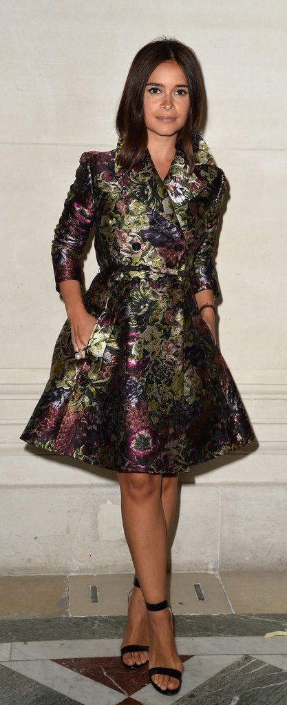 Miroslava Duma at Valentino.  http://www.stylebistro.com/The+Most+Stylish+Front+Row+Looks+at+Couture+Fashion+Week