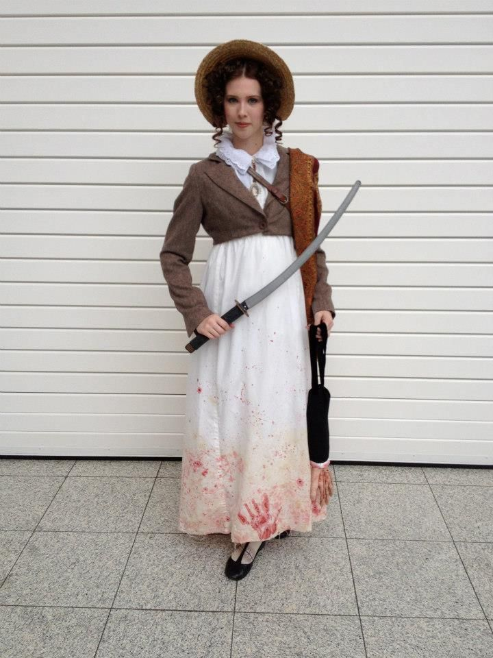 Pride and Prejudice and Zombies costume.