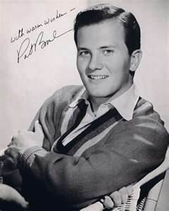 Pat Boone (born June 1, 1934) is an American singer, actor and writer. He was a successful pop singer in the United States during the 1950s and early 1960s. Among his hit songs were cover versions of black R artists' songs (when parts of the country were segregated). He sold over 45 million albums, had 38 Top 40 pop hits and appeared in more than 12 movies.  Boone's talent as a singer and actor, combined with his old-fashioned values, contributed to his popularity in the early rock and roll…