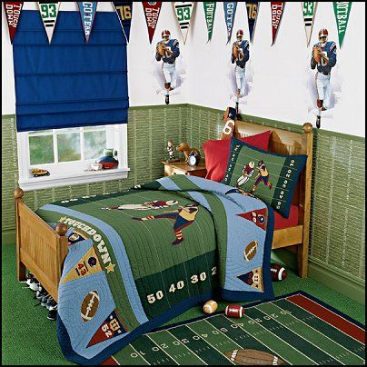 The Best Football Themed Rooms Ideas On Pinterest Boy Sports