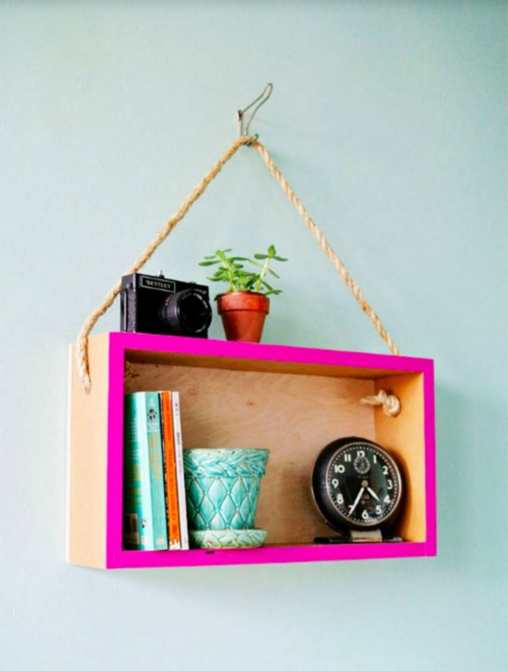 10 Most Creative Rustic DIY Hanging Shelf Design Ideas To Make Your Home Interior Beauty