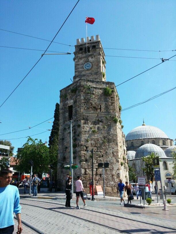 Uhrenturm in Antalya, Türkei