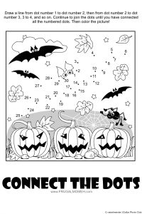 Pumpkins Connect the Dots