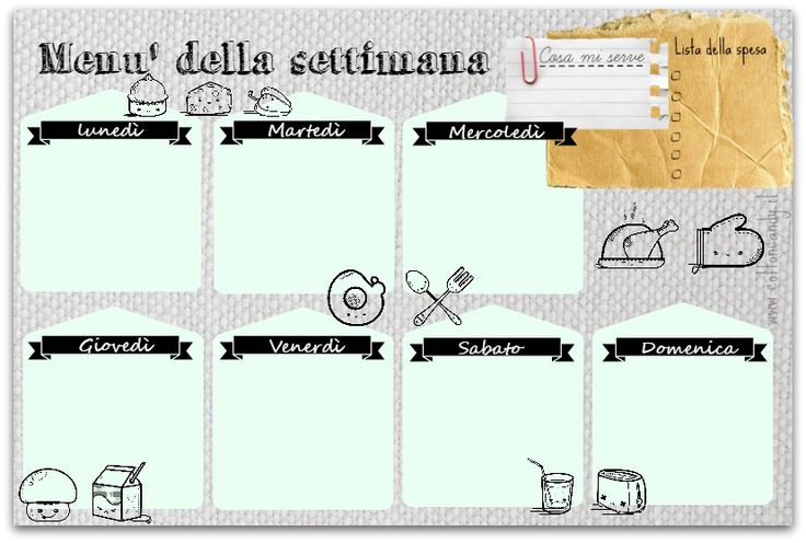 29 best shopping list images on pinterest punch board for Definizione della lista punch