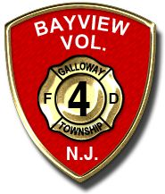 Bayview Volunteer Fire Company #4, Galloway Township, NJ #patches #NewJersey #Galloway #fire #setcom #threads http://setcomcorp.com/integrated-seat-communications.html