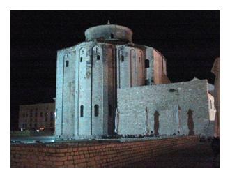 St. Donatus church, 9th century, pre - romanesque church in Zadar, Croatia