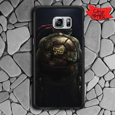 Raphael Ninja Turtles Samsung Galaxy S6 Edge Black Case