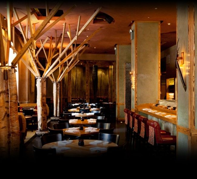 Located in TriBeCa, Nobu New York the flagship restaurant of Chef Nobu Matsuhisa's has been one of many favorite japanese restaurants in The Big Apple. Designed by architect David Rockwell, Nobu New York evokes the beauty of the Japanese countryside with its natural textures, wood floors, birch trees, and a wall made of river stones, creating a surreal effect. Amazing energy, great service, and the resulting dishes,including Yellowtail with Jalapeno, Tiradito Nobu Style, Lobster with Wasabi