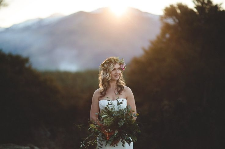 Gum and native foliage  http://wanakaweddingflowers.co.nz/  Pic: williamsphotography.co.nz