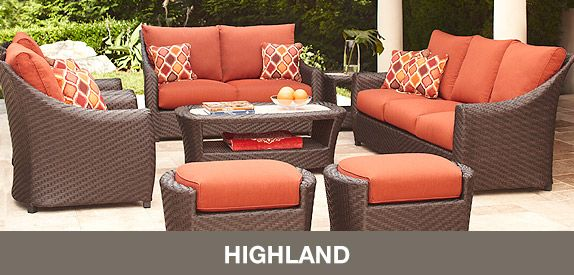 Brown Jordan Highland Patio collection exclusively at Home Depot