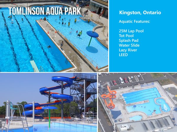 Tomlinson Aqua Park in Kingston Ontario