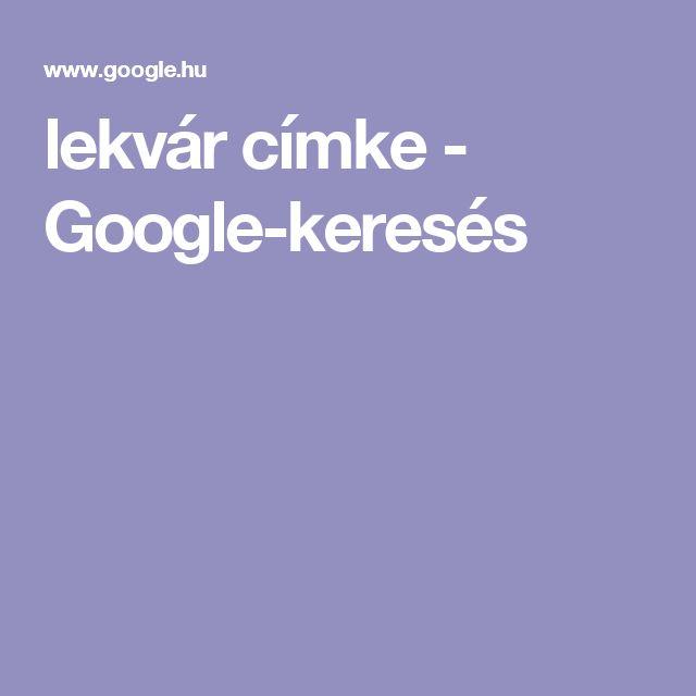 lekvár címke - Google-keresés