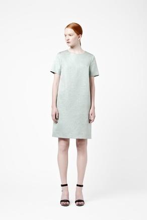 Metallic dress: latest COS pash.