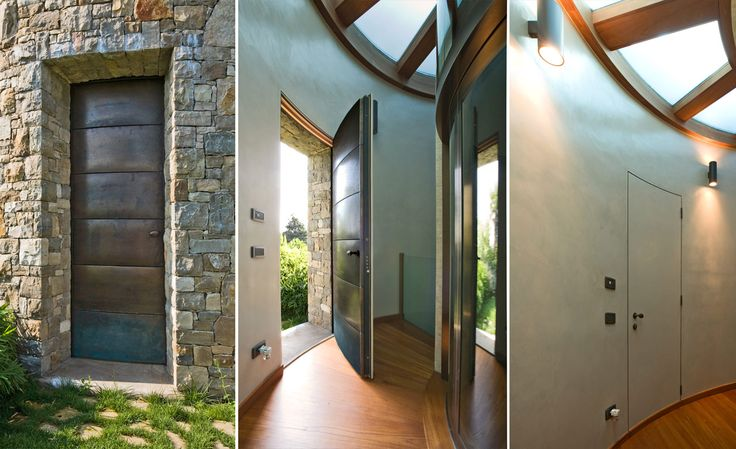 Wood & Metal Frames #design #architecture #doors #frames