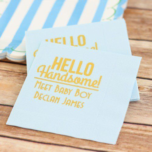 Personalized Exclusive Baby Napkins
