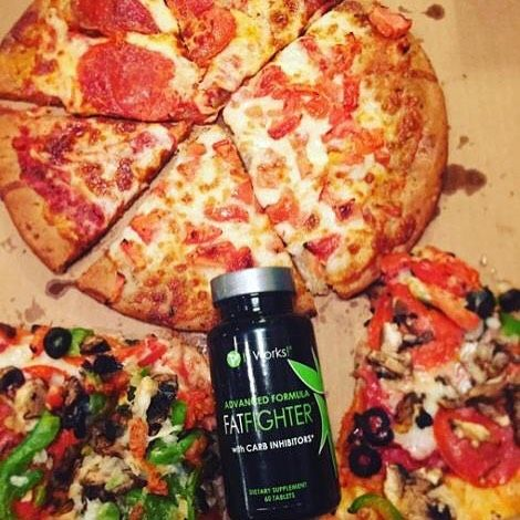 Pizza is my weakness. I get a craving and I just can't help myself. I am so glad that I can absorb 70% of the carbs and 30% of the fat not to mention eliminating the guilt from my splurge. I have THREE spots left for product testers for Fat Fighters this month. Get 40% off the retail price just for sharing your opinion. Like this post for more info.