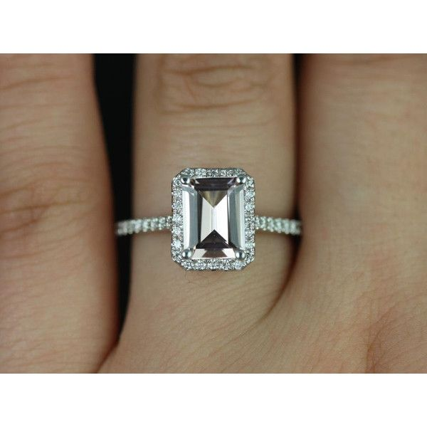 Best 25 Rectangle Engagement Rings Ideas On Pinterest
