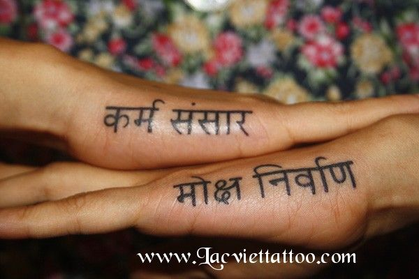 Hình xăm chữ - Tattoo Lac Viet - Tattoo Arts - Vietnam Tattoo - Lạc Việt Tattoo & Piercing Shop