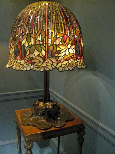 Lotus Shade Tiffany Lamp | Flickr - Photo Sharing!