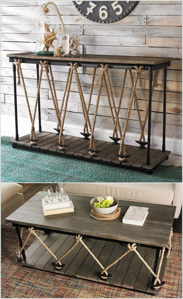 If you want to bring a nautical feel to your home decor then how about  decorating with boat cleats? Available in all sizes, you can use boat  cleats at vari