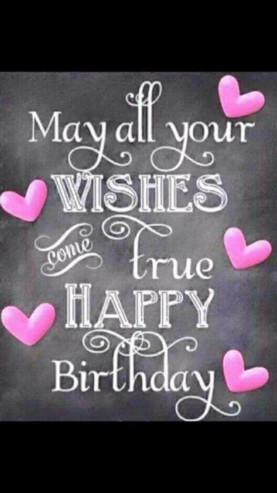 Happy Birthday to You.