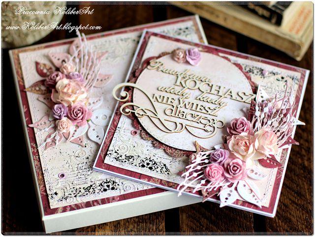 FANTASY: Свадебная открытка в коробочке и пополнение в ДК