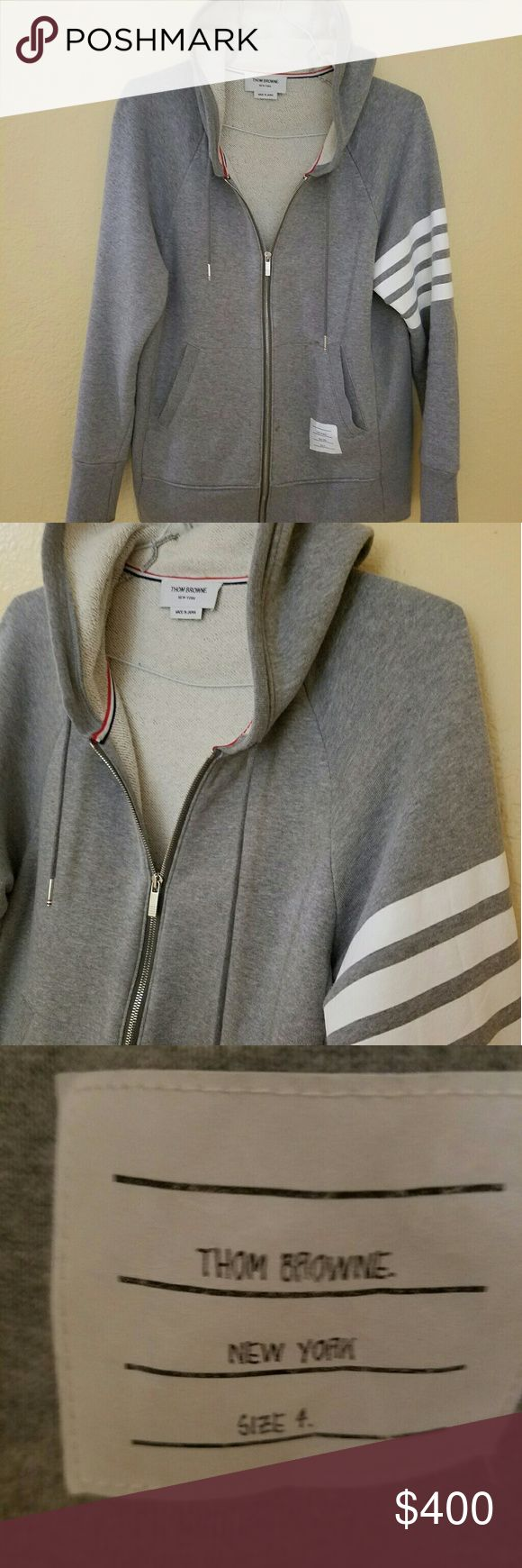 Thom browne Purchased at las vegas barneys 2016 fall Thom Browne Sweaters Zip Up