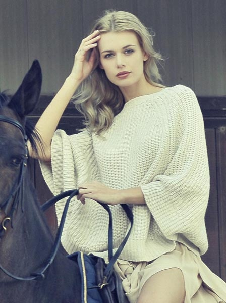 Autumn Winter Collection #knitwear #poncho #cashmere